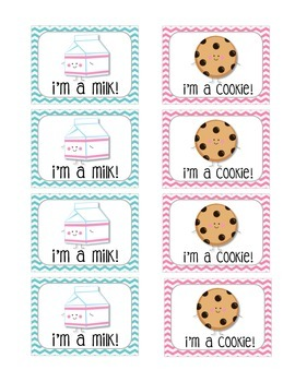 Milk and Cookie Partner Cards