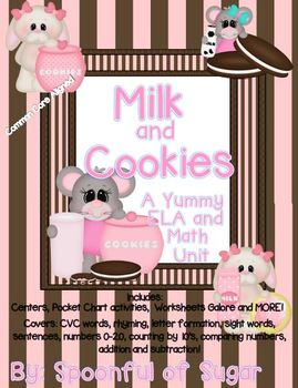 Milk and Cookies (A Yummy Math and ELA Unit)
