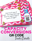 Milk and Cookies Capacity QR Code Fun