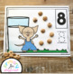 Milk and Cookies Counting Mats 1 - 20