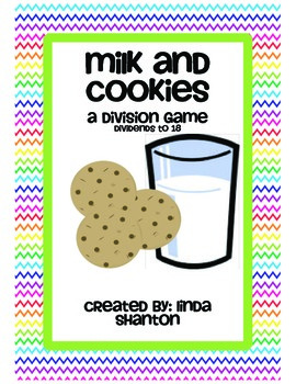 Milk and Cookies Division Center or Game