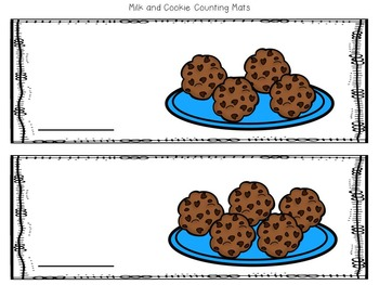 Milk and Cookies Literacy and Math Games with Printables- Bundle!