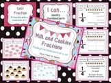 Milk and Cookies-fractional parts of a set activity