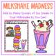Milkshake Madness - Consonant Blends Board Game
