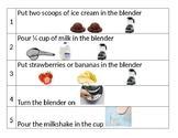 Milkshake Visual REcipe