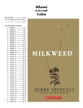 Milkweed  by Jerry Spinelli - Novel Study Guide