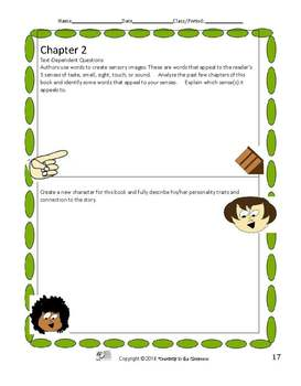 Milkweed Novel Unit Plus Grammar