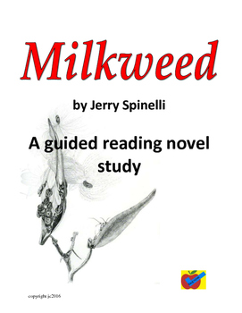 Milkweed by Jerry Spinelli guided reading novel study