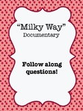 """""""The Milky Way"""" (2014) Documentary Video Guide Worksheet"""