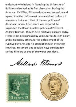 Millard Fillmore Handout