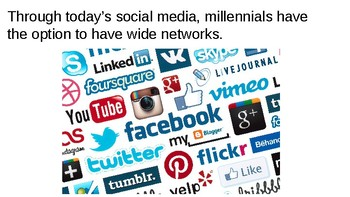 Millennials: the positives and negatives! Powerpoint