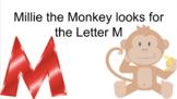 Millie the Monkey - Letter M Phonics