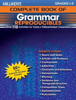 Milliken's Complete Book of Grammar Reproducibles - Grades 1-2