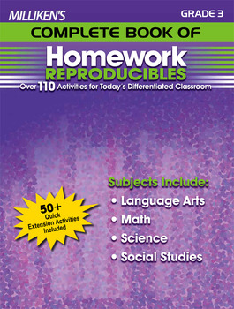 Milliken's Complete Book of Homework Reproducibles - Grade 3