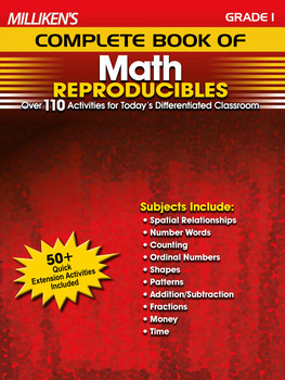 Milliken's Complete Book of Math Reproducibles - Grade 1