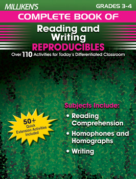 Milliken's Complete Book of Reading and Writing Reproducibles - Grades 3-4