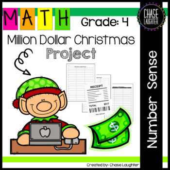 Million Dollar Christmas Project - Fourth Grade Place Valu