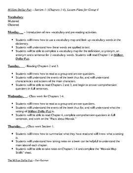 Million Dollar Putt Teacher's Guide