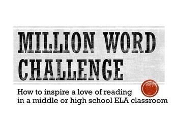 Million Word Challenge - Independent Reading