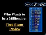 Millionaire: 9th grade English SKILLS review