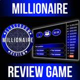 Millionaire Gameshow Classroom Review Game - Customizable