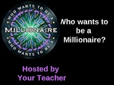 Millionaire Prepositions Game