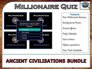 Millionaire Quiz! (Ancient Civilizations Bundle) *US, UK and AUS*