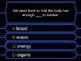 Millionaire Quiz! (Digestive System Edition)