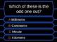 Millionaire Quiz! (Measurement Edition)