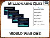 Millionaire Quiz! (World War I Edition)
