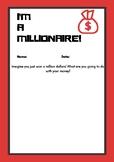 Millionaire Writing