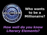 Millionare Game:  STAAR Review for Literary Elements