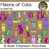 Millions of Cats by Gag 12 Book Extension Activities NO PREP