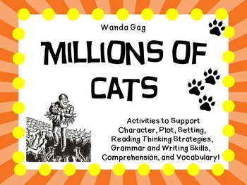 Millions of Cats  by Wanda Gag:   A Complete Literature Study!