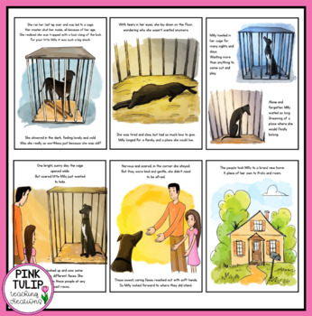 Milly's Journey - Picture Story Book