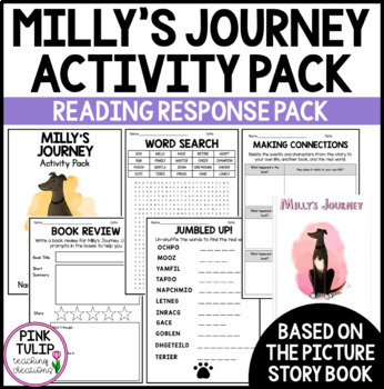 Milly's Journey Picture Story Book - Reading Writing Activity Pack