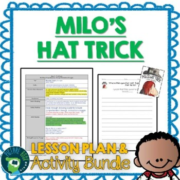 Milo's Hat Trick by Jon Agee Lesson Plan and Activities