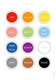 Milou's ESL - The Basics - Colours 2