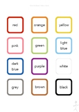 Milou's ESL - The Basics - Colours