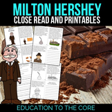 Milton Hershey Reading Passage and Activities