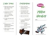 PebbleGo ~ Milton Hershey Biography Brochure
