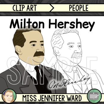 Milton Hershey Clipart