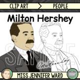 Milton Hershey Clip Art