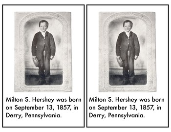 Milton Hershey Differentiated Mini Unit