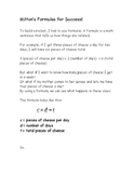 Milton's Formulas For Success