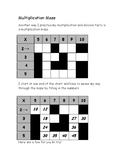 Milton's Multiplication Maze