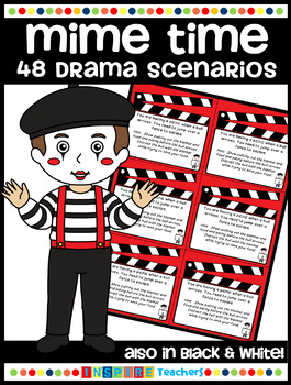 Mime Time - 48 Drama Scenarios