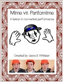 Mime vs Pantomime - A lesson in non-verbal performance