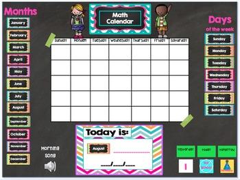Mimio Calendar Math