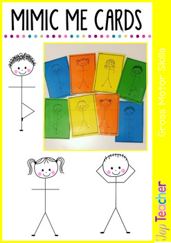Mimic Me - Body Cards